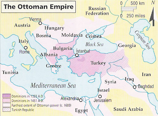 capital of the ottoman empire